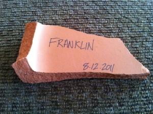 franklinpottery