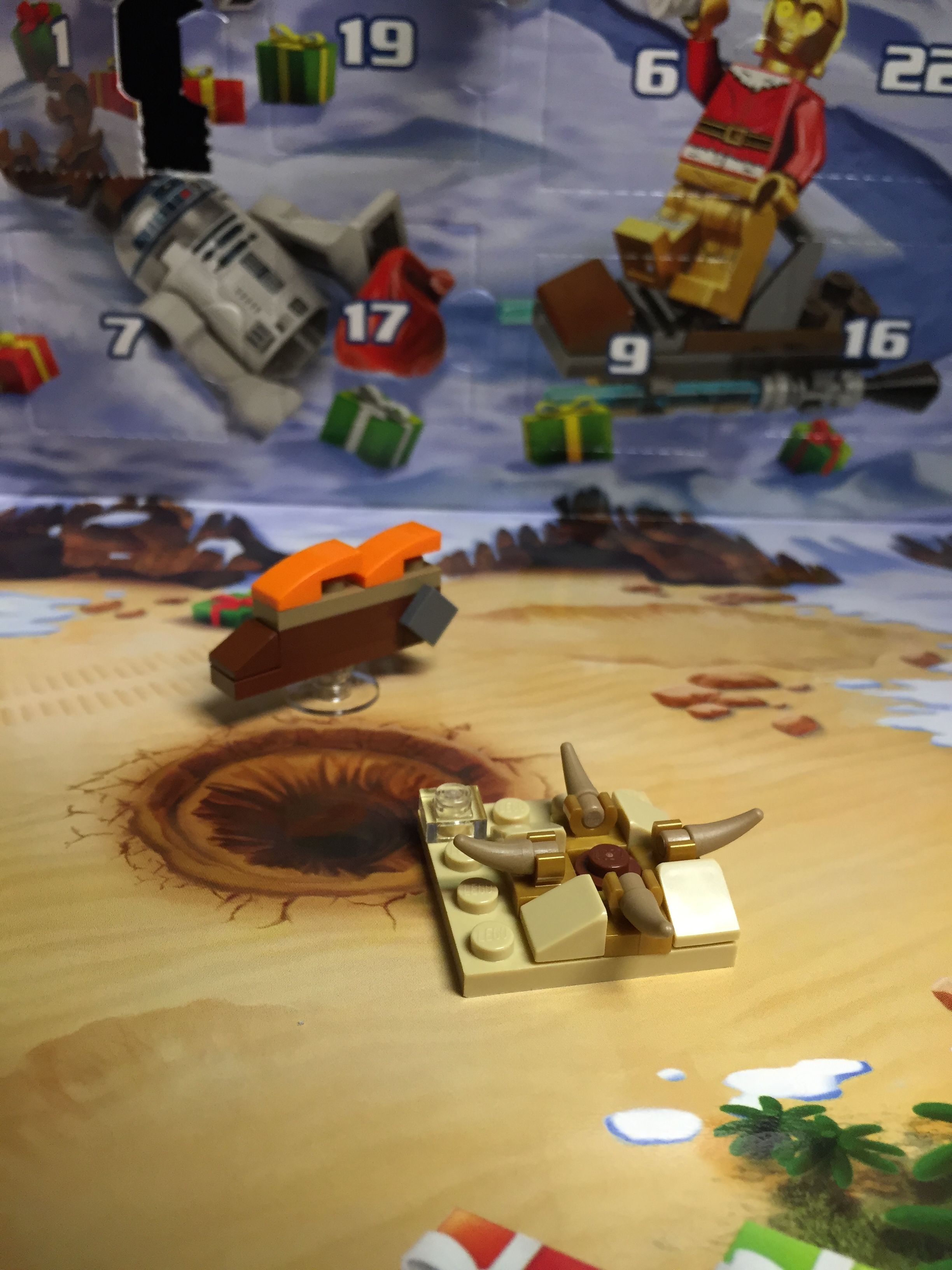 LEGO Star Wars Advent: Day 2 – You're a Mean One, Mr. Sarlacc ...
